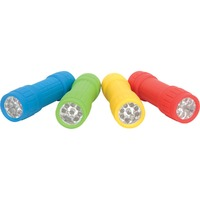 9 LED Mini Torch (Assorted Colours)