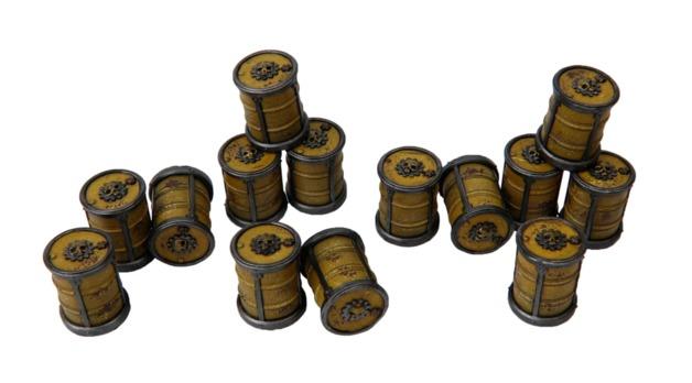 TTCombat: Tabletop Scenics - Gothic Barrels