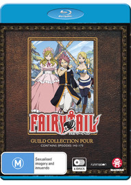 Fairy Tail Guild: Collection 4 (Episodes 143-175) on Blu-ray