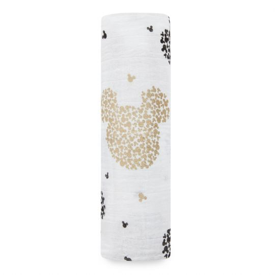 Aden + Anais: Scatter Metallic Swaddle - Mickey's 90th