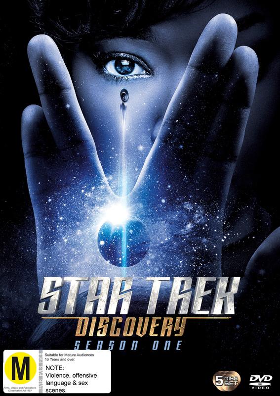 Star Trek Discovery: Season 1 on DVD