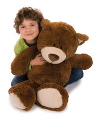 "Nici: Bear Brown - 31"" Classic Plush"