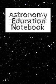 Astronomy Education Notebook by Lars Lichtenstein image