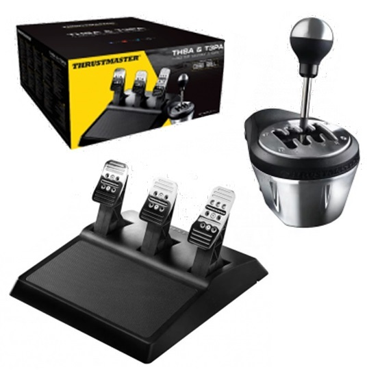 Thrustmaster TH8A Shifter & T3PA Pedal Set Bundle (PS4,PS3, PC & Xbox One) for PS4