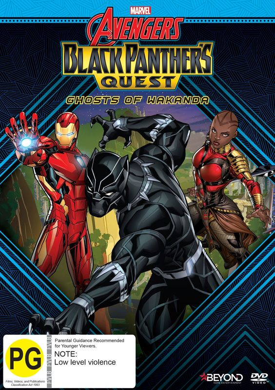 Avengers Assemble: Black Panther's Quest - Ghosts of Wakanda on DVD