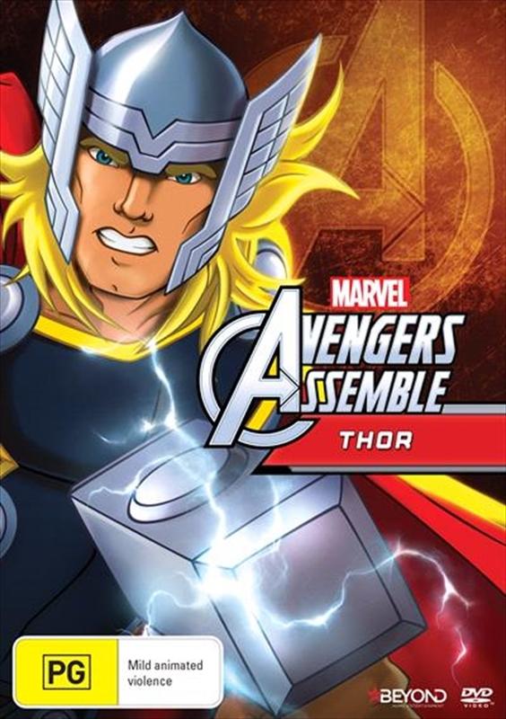 Avengers Assemble: Thor on DVD