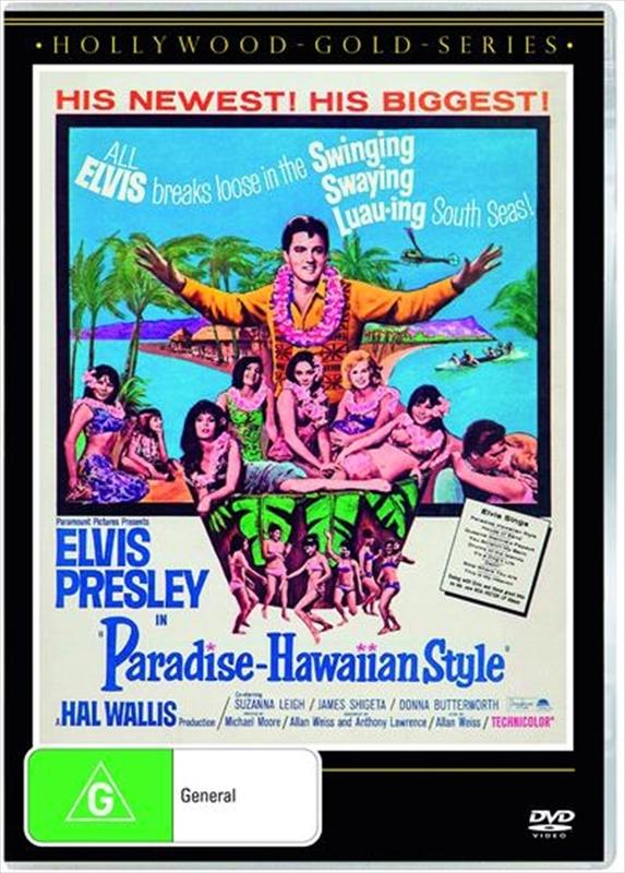 Paradise, Hawaiian Style on DVD