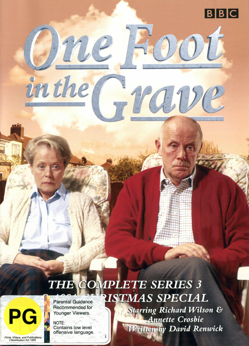 One Foot In The Grave - Complete Series 3 And 1991 Christmas Special (2 Disc Set) on DVD image