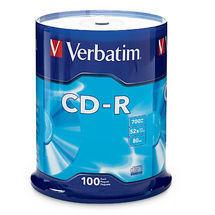 Verbatim CD-R 700MB 100Pk Spindle 52x