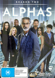 Alphas - The Complete Season Two on DVD image