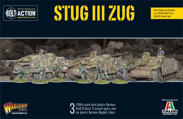 German Army - StuG III Zug