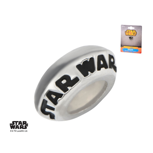 Star Wars Logo Charm Bracelet Spacer