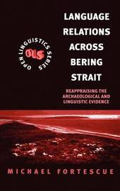 Language Relations Across the Bering Strait by Michael David Fortescue image