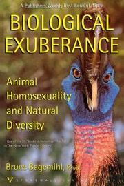 Biological Exuberance by Bruce Bagemihl