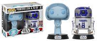 Star Wars - Hologram Leia & R2-D2 Pop! Vinyl 2-Pack (LIMIT - ONE PER CUSTOMER)