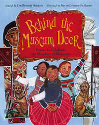 Behind the Museum Door: Poems to Cele by Lee Bennett Hopkins image