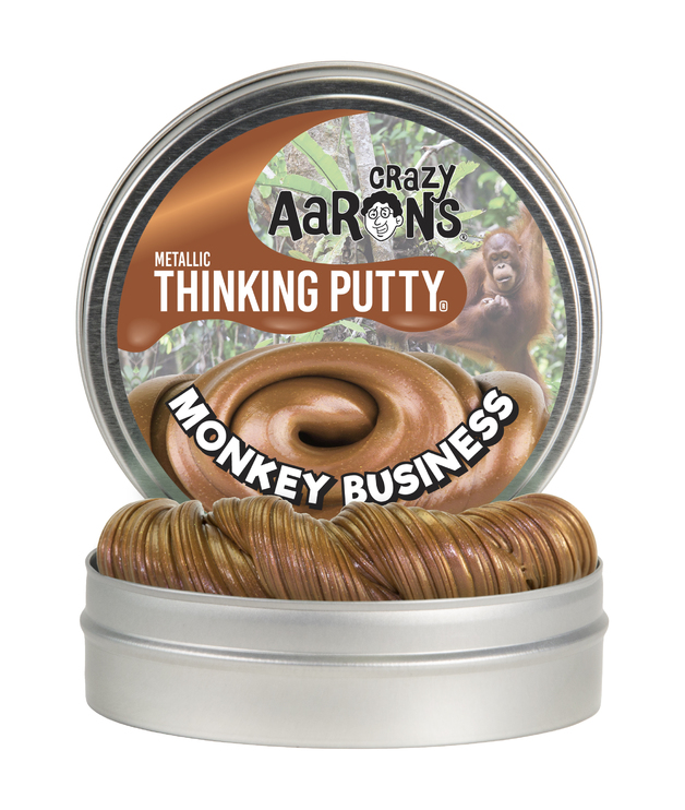 Crazy Aarons: Thinking Putty - Monkey Business