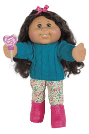 """Cabbage Patch Kids: 14"""" Plush Doll - Sweater Girl (Assorted Designs)"""