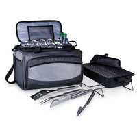 Buccaneer Portable Charcoal Grill All-In-One BBQ Set