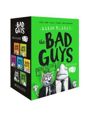 Bad Guys Even Badder Box (Episodes 1-7) by Aaron Blabey