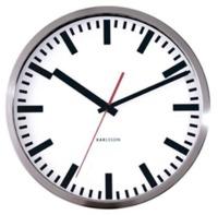 Karlsson White Station Wall Clock - 29cm