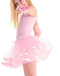 Fairy Girls - Twirl Tutu Skirt (Light Pink, age 3-8)