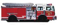 Fire Engine (Wheelie Board Book) by DK image