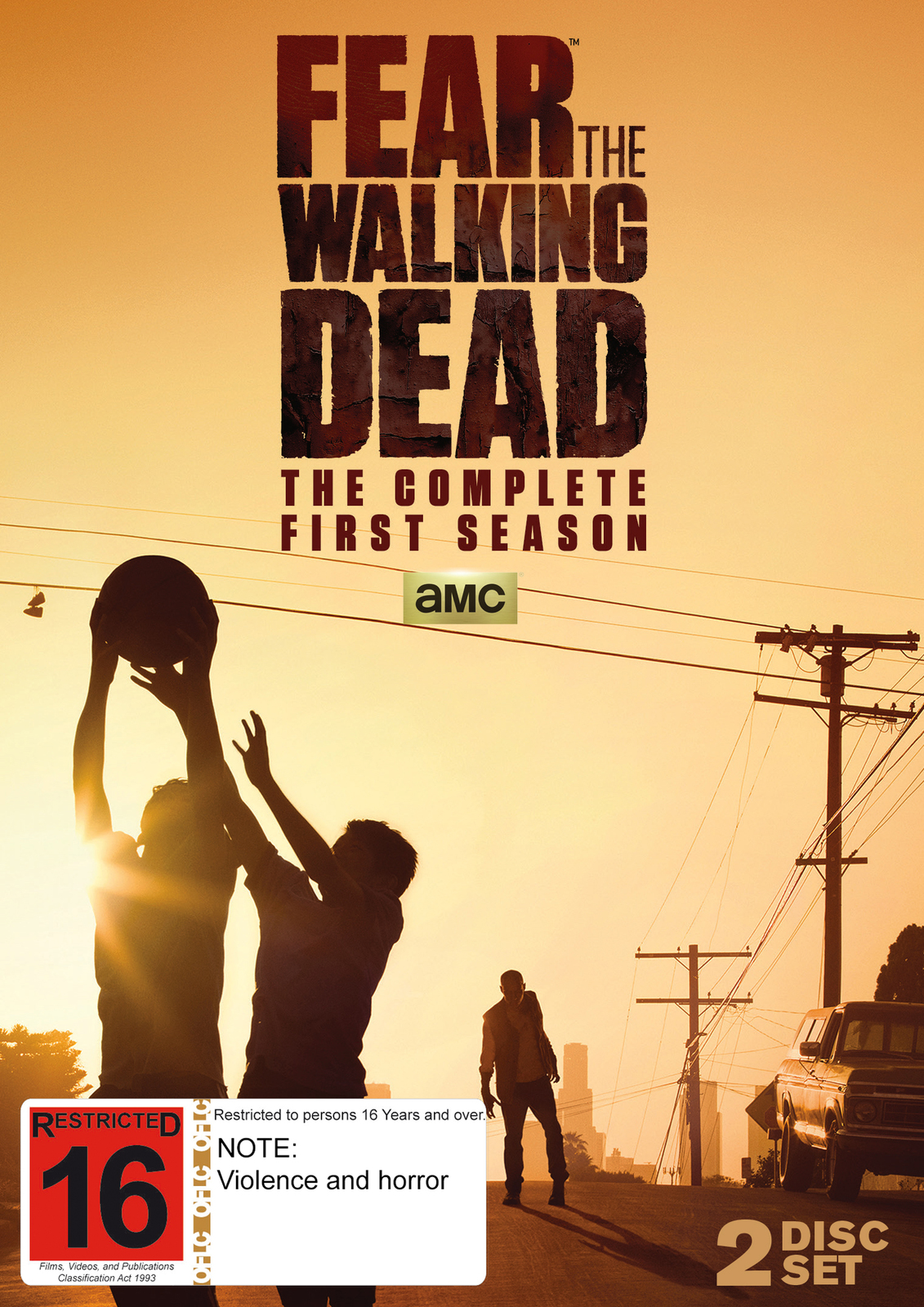 Fear The Walking Dead - The Complete First Season on DVD image