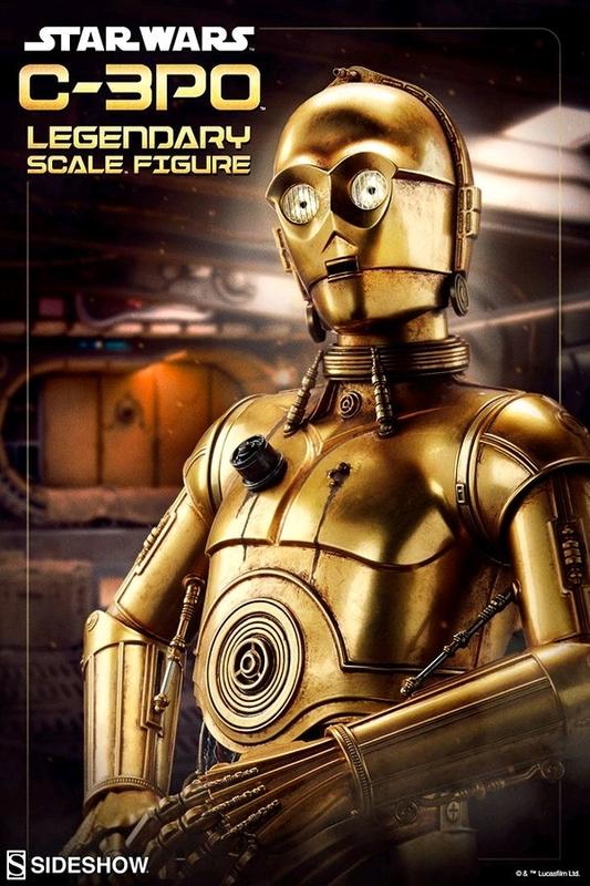 Star Wars - C-3PO Legendary 1:2 Scale Statue