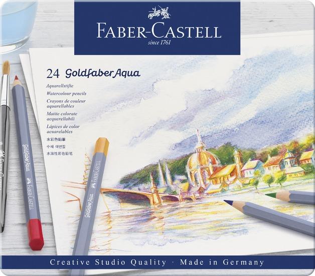 Faber-Castell: Goldfaber Aqua (Tin of 24)