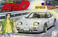 Fujimi 1/24 Nissan S13 Silvia 180SX Kenji Initial D - Model Kit