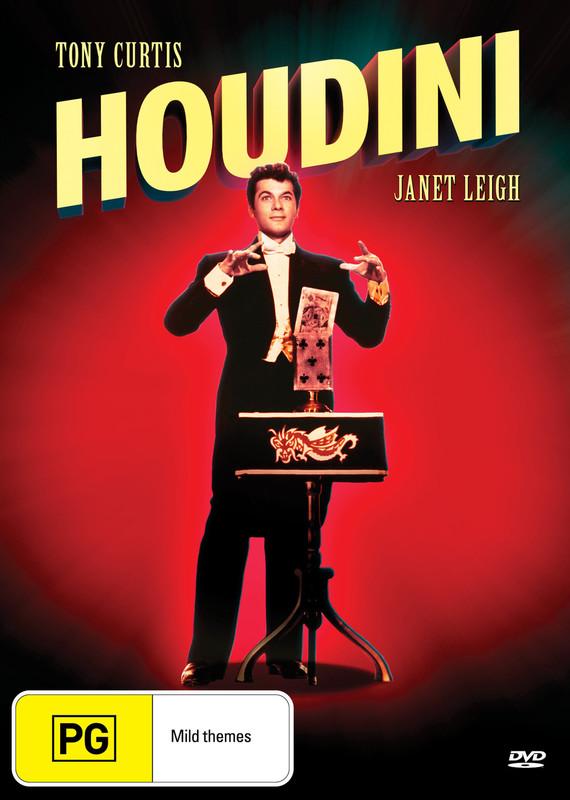 Houdini on DVD