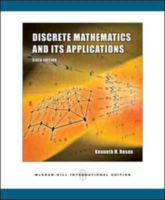 Discrete Mathematics and Its Applications: With MathZone by Kenneth Rosen