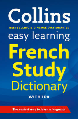 Easy Learning French Study Dictionary with IPA