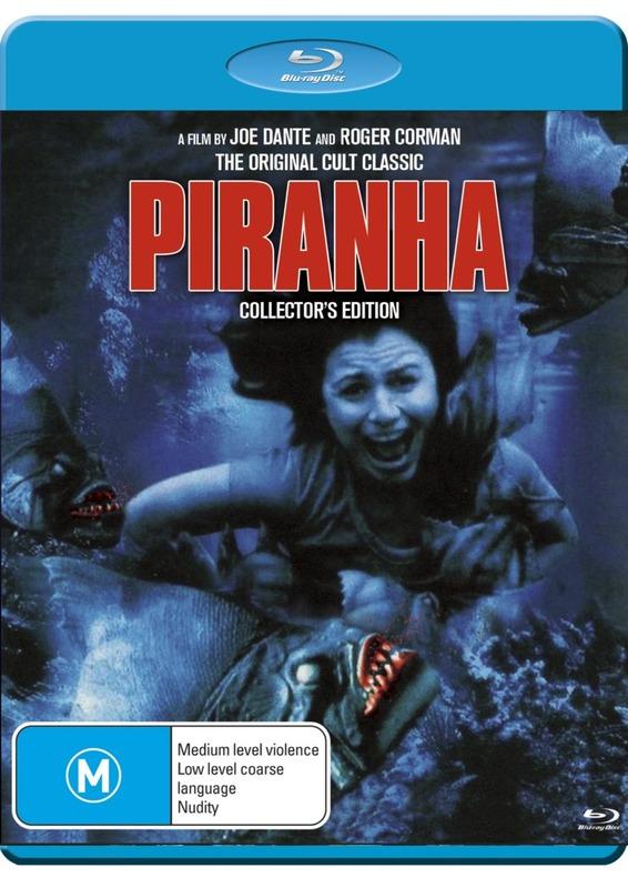 Piranha: The Original on Blu-ray