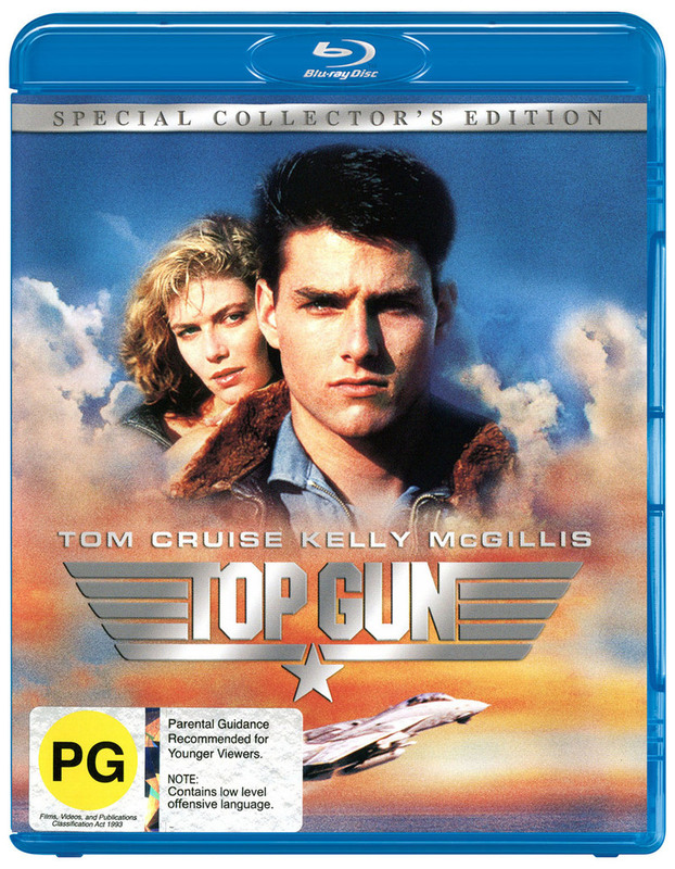 Top Gun on Blu-ray