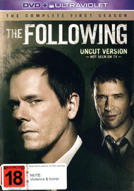 The Following - The Complete First Season on DVD, UV
