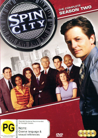 Spin City - The Complete Season Two on DVD