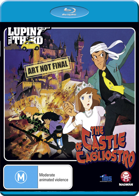 Lupin III: The Castle of Cagliostro on Blu-ray