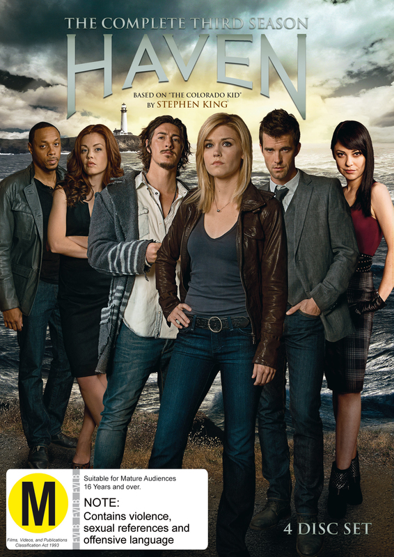 Haven The Complete Season 3 on DVD