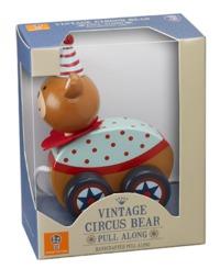 Orange Tree Toys: Vintage Circus - Bear Pull Along