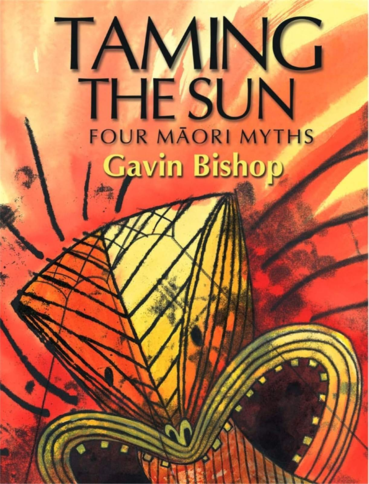 Taming the Sun: Four Maori Myths by Gavin Bishop image