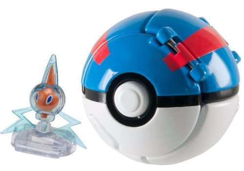 Pokémon: Rotom & Great Ball - Throw 'n' Pop Set image