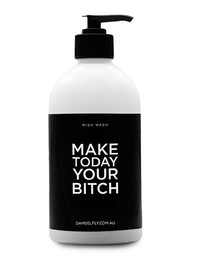 Make Today Your B**ch Wish Wash (Black)