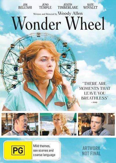 Wonder Wheel on DVD image
