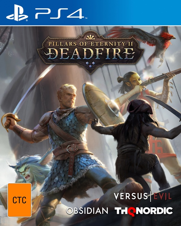 Pillars of Eternity II: Deadfire for PS4