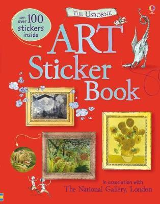 Art Sticker Book by Sarah Courtauld image