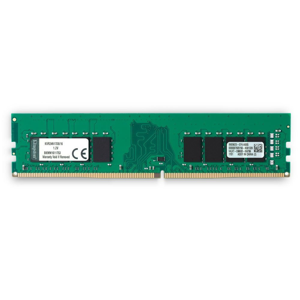16GB Kingston 2400Mhz DDR4 Non-ECC CL17 Dimm 2Rx8 image