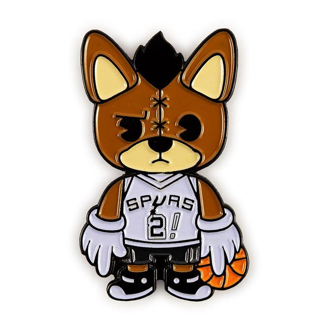 NBA: San Antonio Spurs - The Coyote Mascot Enamel Pin