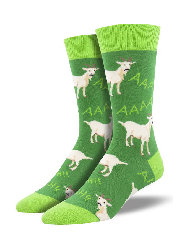 Socksmith: Screaming Goats - Green